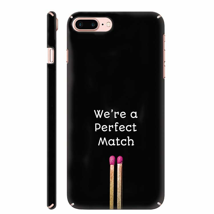 Perfect Match Back Cover for Apple iPhone 8 Plus