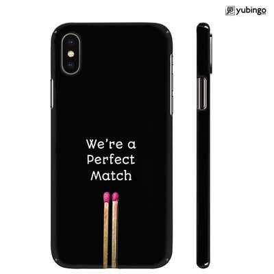 Perfect Match Back Cover for Apple iPhone X