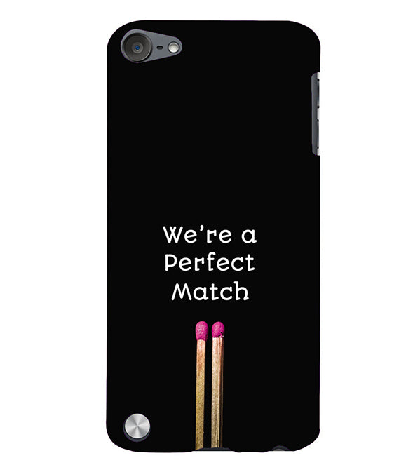 Perfect Match Back Cover for Apple iPod Touch 5