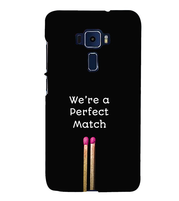 Perfect Match Back Cover for Asus Zenfone 3 Deluxe ZS570KL