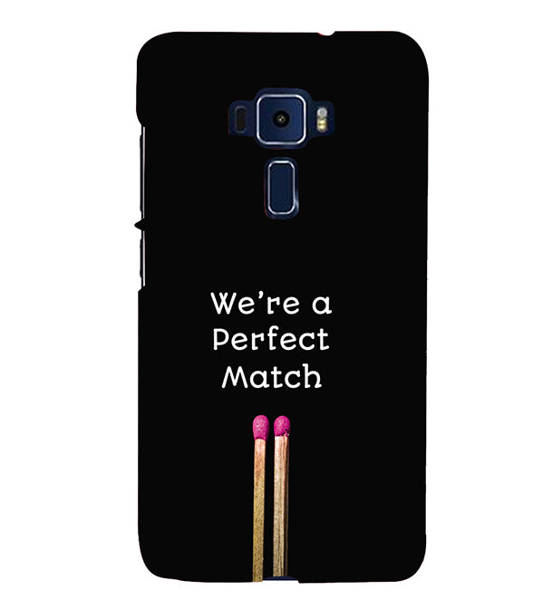 Perfect Match Back Cover for Asus Zenfone 3 ZE520KL