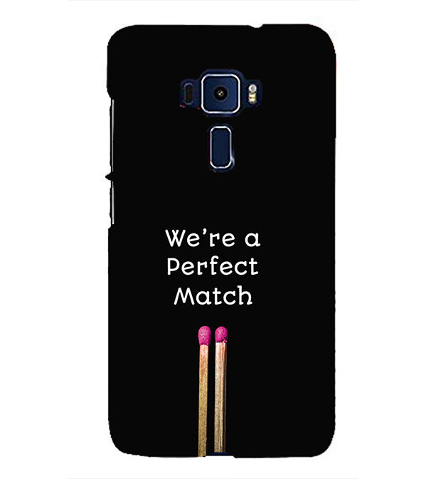 Perfect Match Back Cover for Asus Zenfone 3 ZE552KL