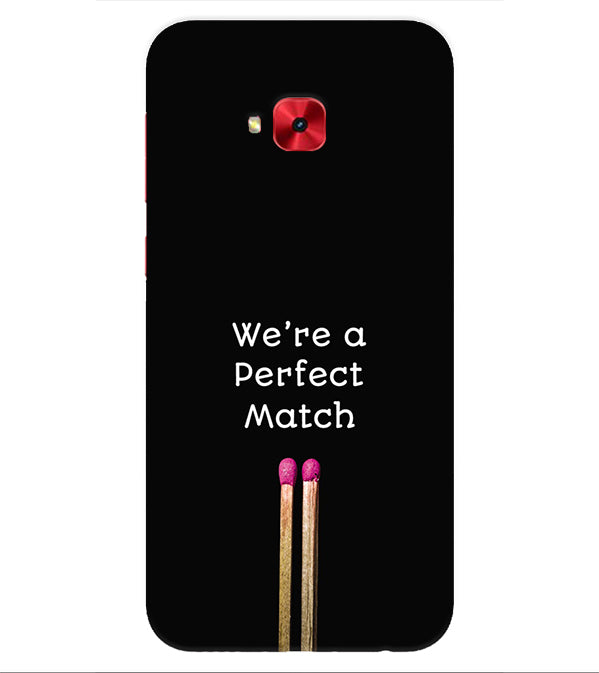 Perfect Match Back Cover for Asus Zenfone 4 Selfie