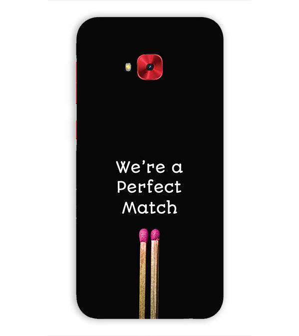 Perfect Match Back Cover for Asus Zenfone 4 Selfie Pro ZD552KL