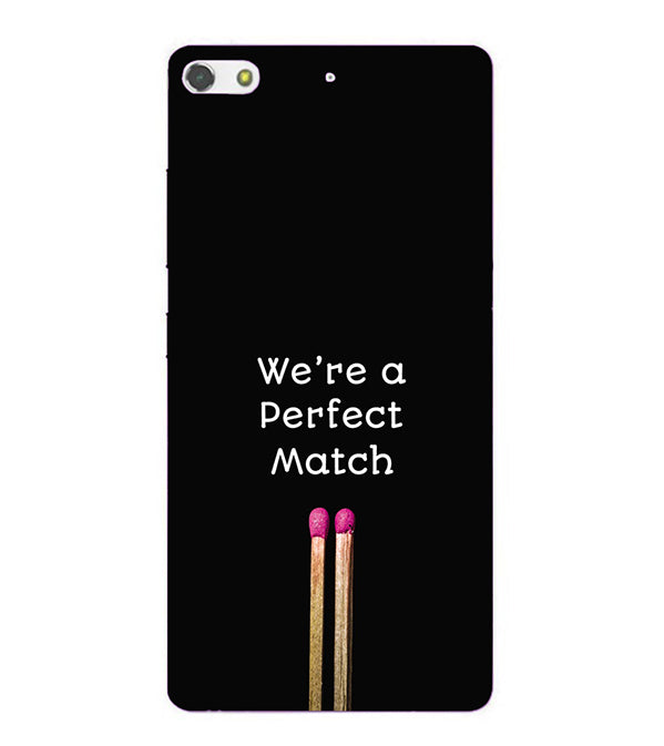 Perfect Match Back Cover for Gionee Elife S7