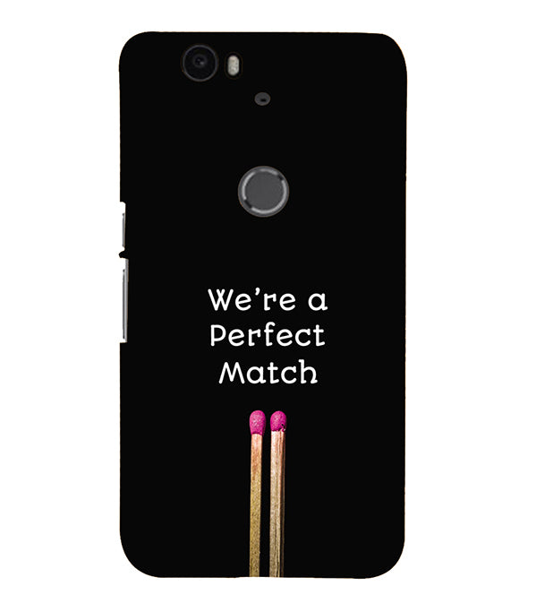 Perfect Match Back Cover for Google Nexus 6P