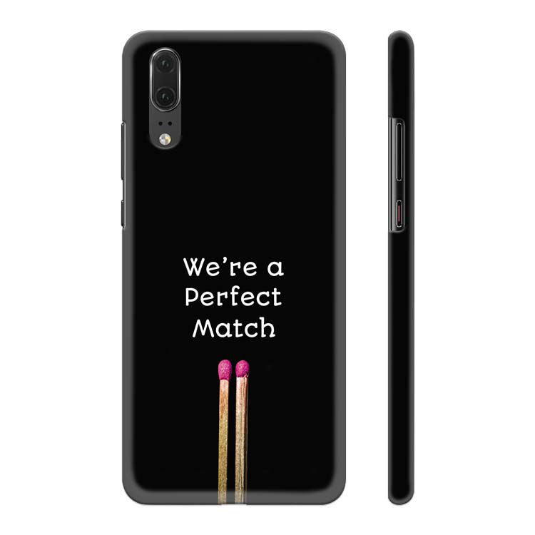 Perfect Match Back Cover for Huawei P20