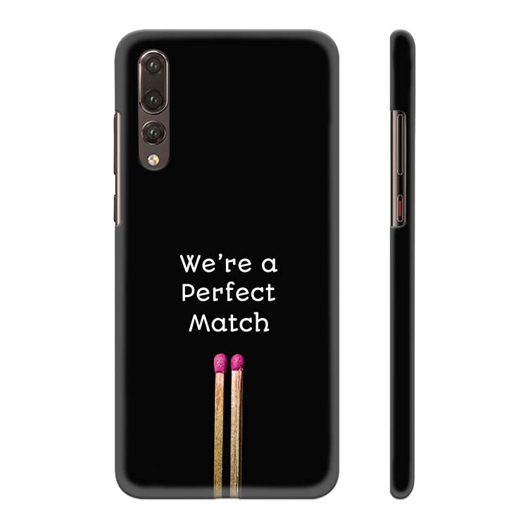 Perfect Match Back Cover for Huawei P20 Pro