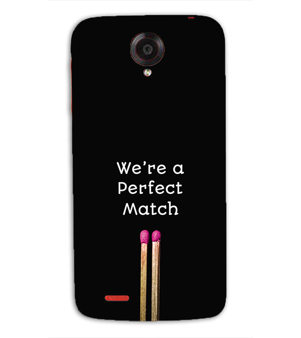 Perfect Match Back Cover for Lenovo S820
