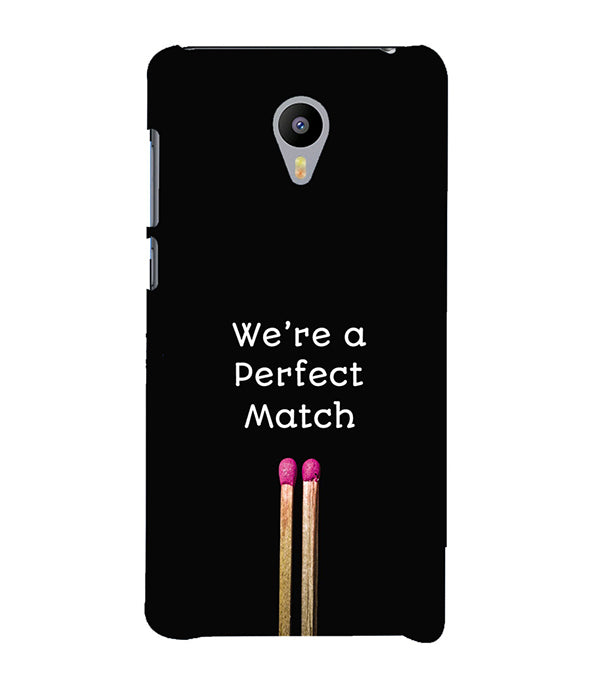 Perfect Match Back Cover for Meizu M3 Note