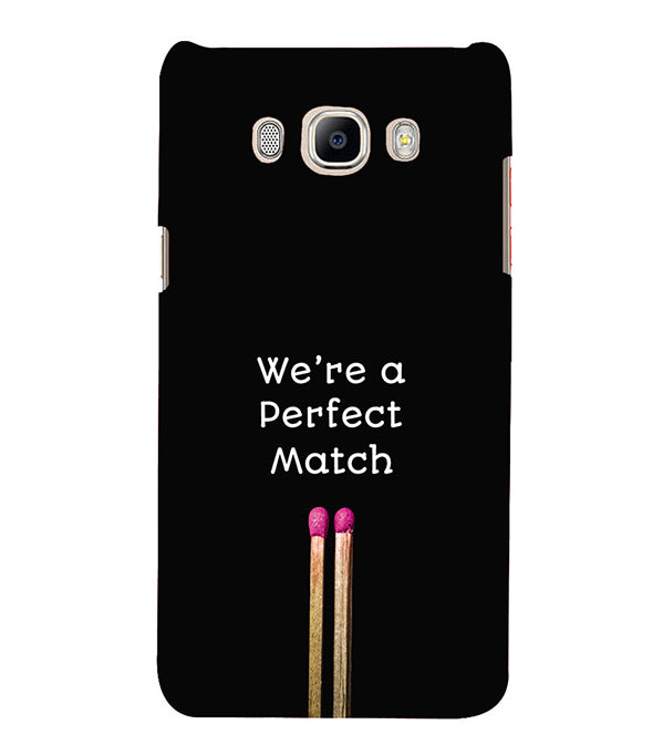 newest 8cd03 cbf06 Perfect Match Back Cover for Samsung Galaxy J5 (6) 2016