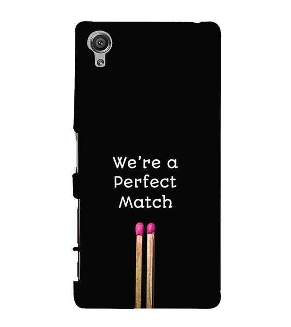 Perfect Match Back Cover for Sony Xperia X