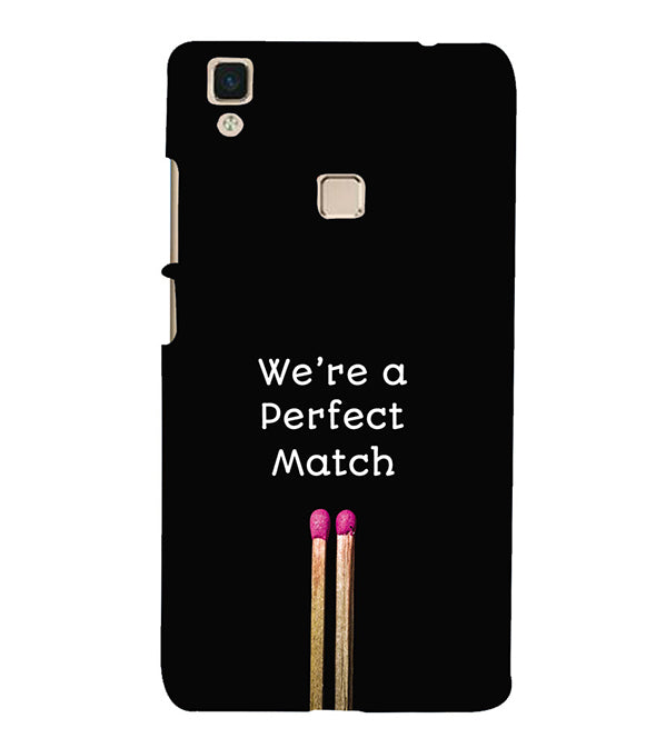 Perfect Match Back Cover for Vivo V3Max