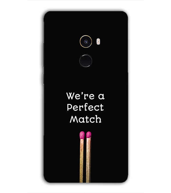 Perfect Match Back Cover for Xiaomi Mix 2