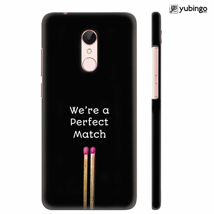 newest collection 59e55 f536e Perfect Match Back Cover for Xiaomi Redmi 5