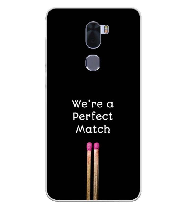 Perfect Match Soft Silicone Back Cover for Coolpad Cool 1