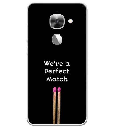 Perfect Match Back Cover for LeEco Le 2s
