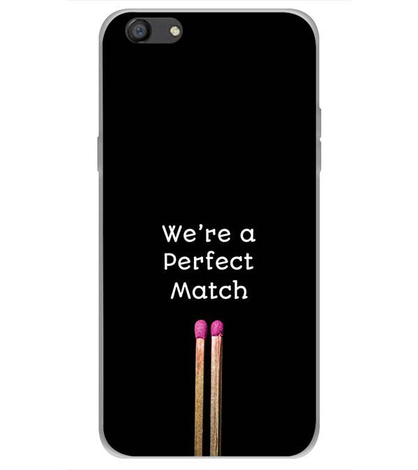 Perfect Match Back Cover for Oppo A77