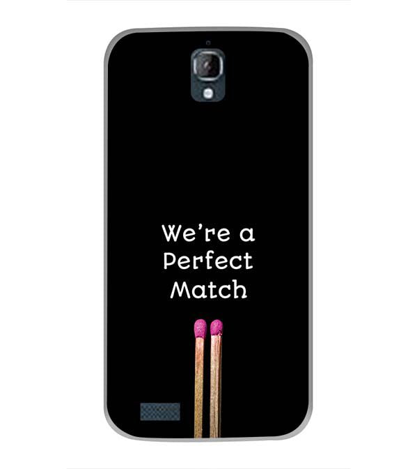 Perfect Match Back Cover for Panasonic Eluga Icon