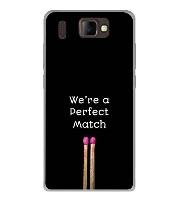 Perfect Match Back Cover for Panasonic P66 Mega
