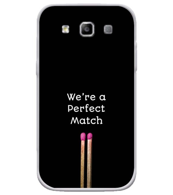 Perfect Match Soft Silicone Back Cover for Samsung Galaxy Grand Quattro 8552