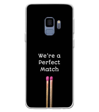Perfect Match Back Cover for Samsung Galaxy S9