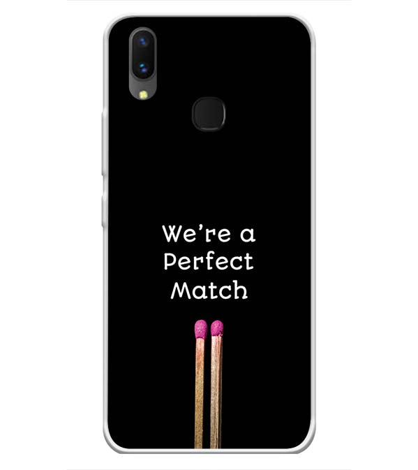 Perfect Match Soft Silicone Back Cover for Vivo X21