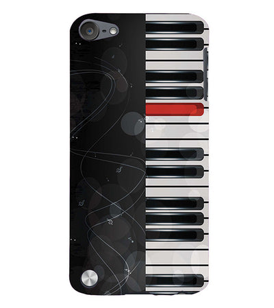 Piano Back Cover for Apple iPod Touch 5