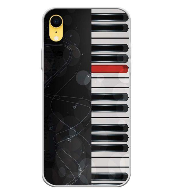 hot sales b5608 fba5d Piano Back Cover for Apple iPhone XR
