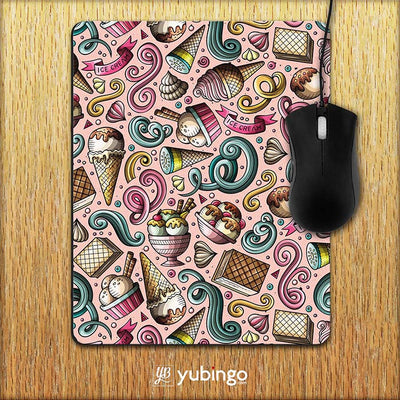 Pink Ice Cream Mouse Pad-Image2