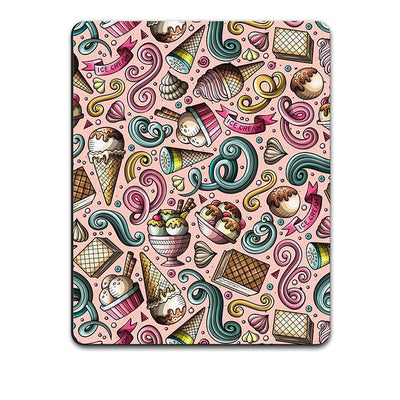 Pink Ice Cream Mouse Pad