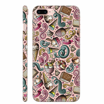 Pink Ice Cream Back Cover for Apple iPhone 8 Plus