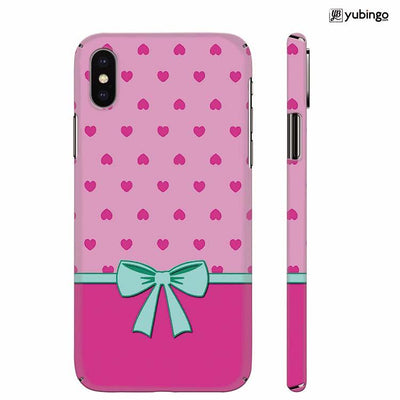 Pink Knot Back Cover for Apple iPhone X