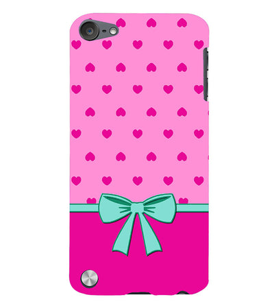 Pink Knot Back Cover for Apple iPod Touch 5