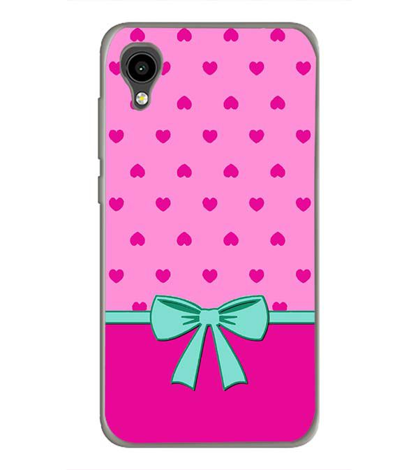Pink Knot Back Cover for Intex Aqua 4G Mini