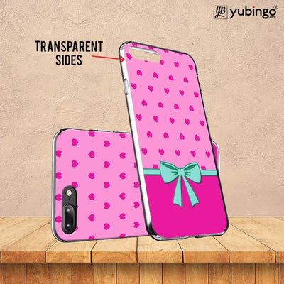 Pink Knot Back Cover for ITEL PWO Pro-Image3