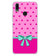 Pink Knot Soft Silicone Back Cover for Vivo X21