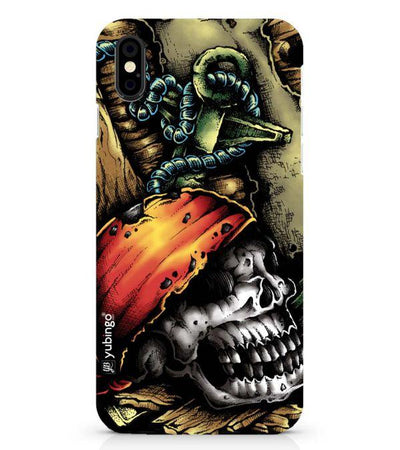 Pirate Skull Back Cover for Apple iPhone X