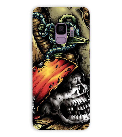 Pirate Skull Back Cover for Samsung Galaxy S9