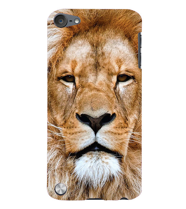 Portrait of Lion Back Cover for Apple iPod Touch 5