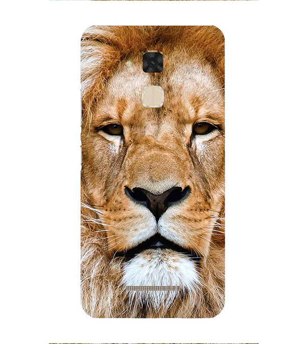 Portrait of Lion Back Cover for Asus Zenfone 3 Max ZC520TL