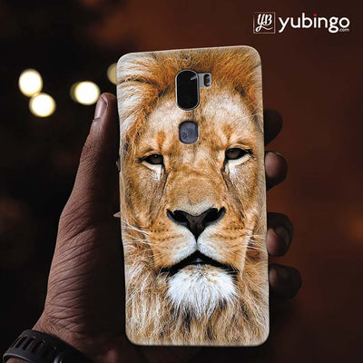 Portrait of Lion Back Cover for Coolpad Cool 1-Image2