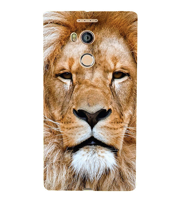 Portrait of Lion Back Cover for Gionee Elife E8