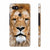 Portrait of Lion Back Cover for Google Pixel 2 XL (6 Inch Screen)