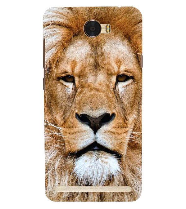 Portrait of Lion Back Cover for Huawei Honor Bee 2 :: Huawei Y3 2