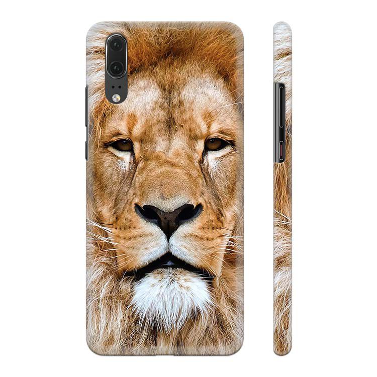 Portrait of Lion Back Cover for Huawei P20