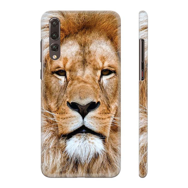 Portrait of Lion Back Cover for Huawei P20 Pro
