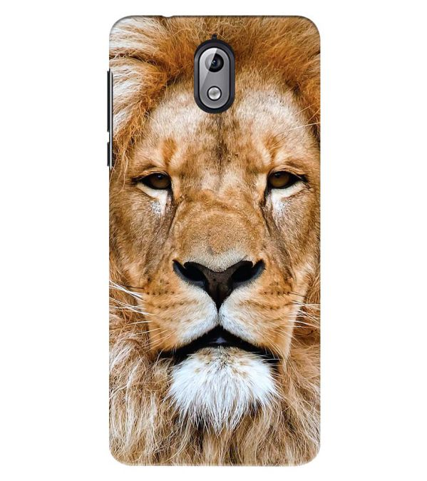 Portrait of Lion Back Cover for Nokia 3.1 (2018)