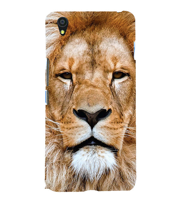 Portrait of Lion Back Cover for OnePlus X