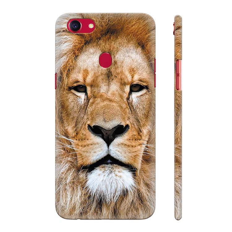 new product d389b b1e3a Portrait of Lion Back Cover for Oppo F5 : Oppo F5 Youth